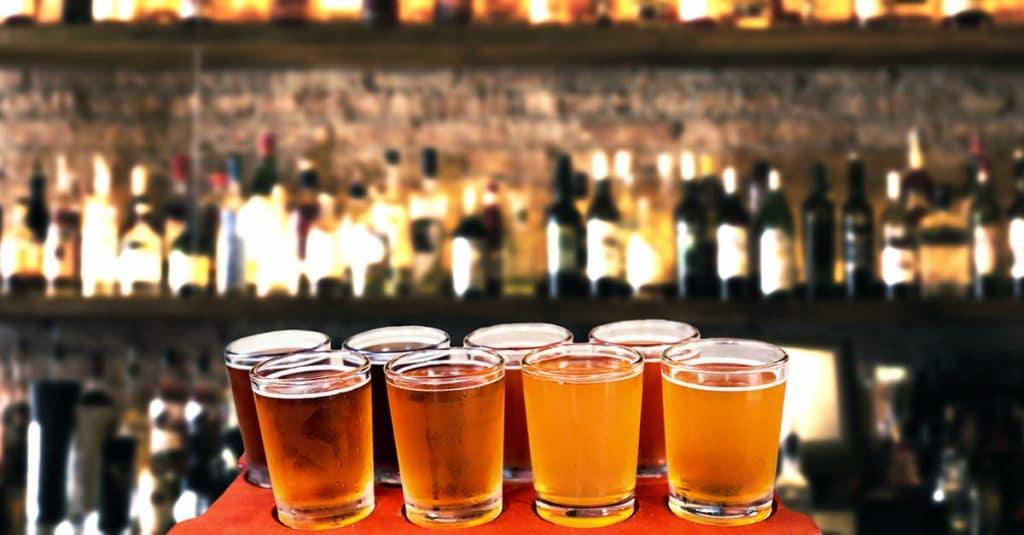 Pintes de bière