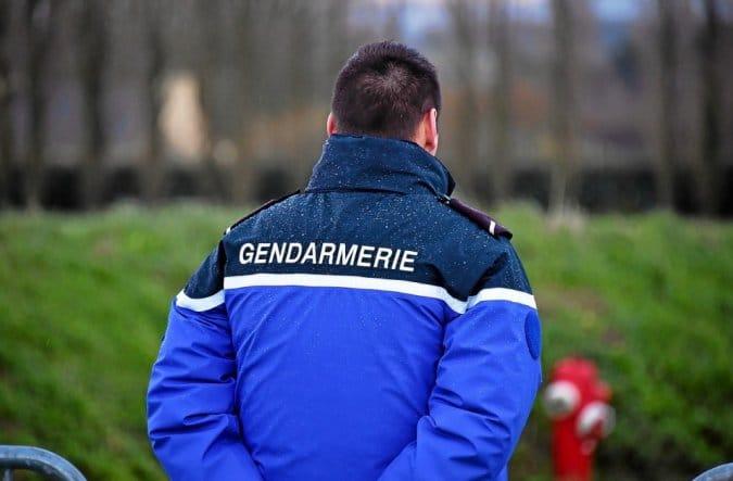 Photo d'un gendarme. Crédit : Claude Prigent / Le Telegramme