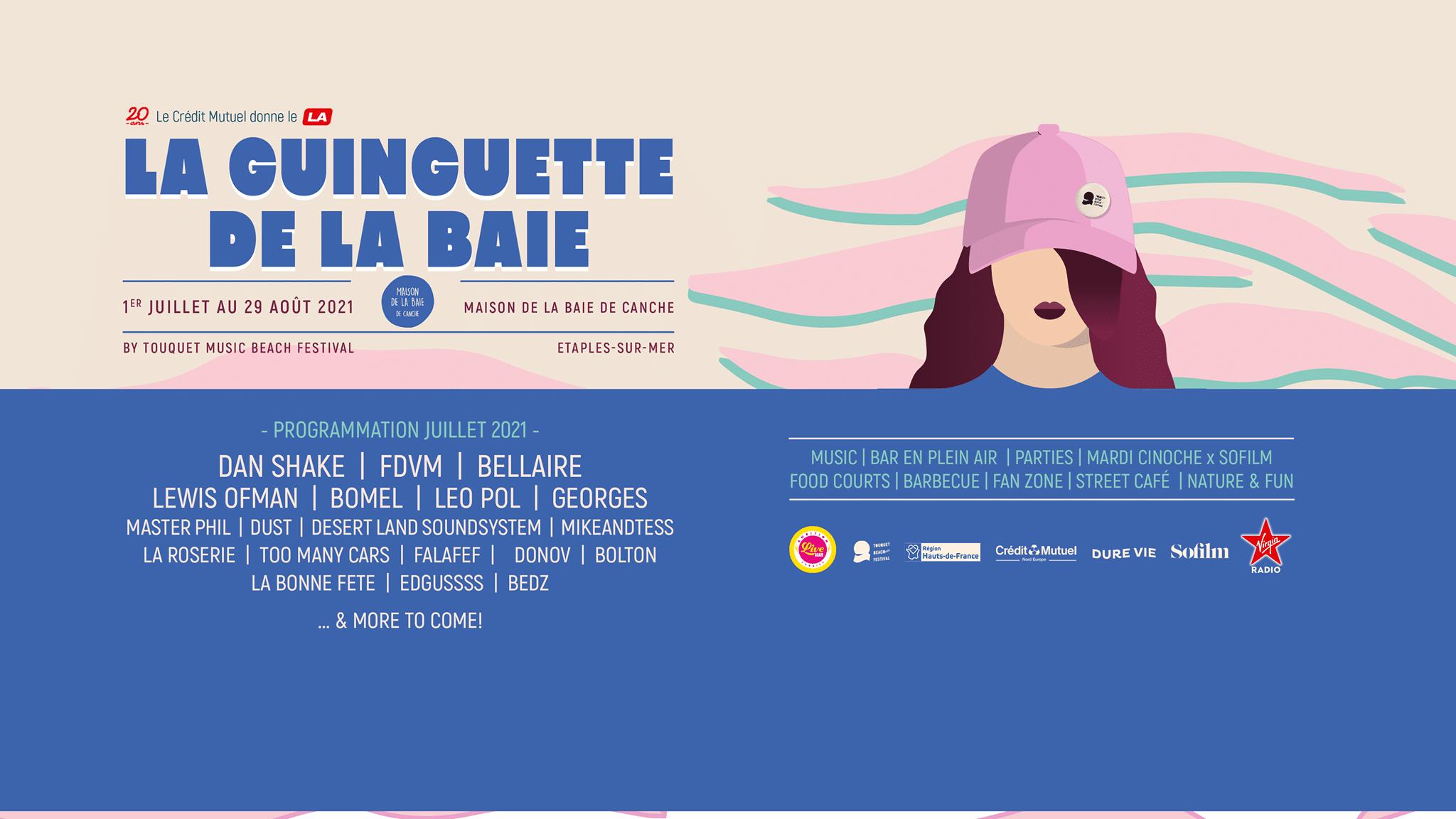 affiche de la Guinguette de la Baie