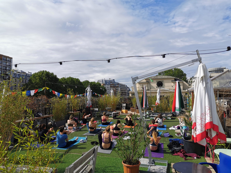 Cam's Yoga au Point Éphémère à Paris