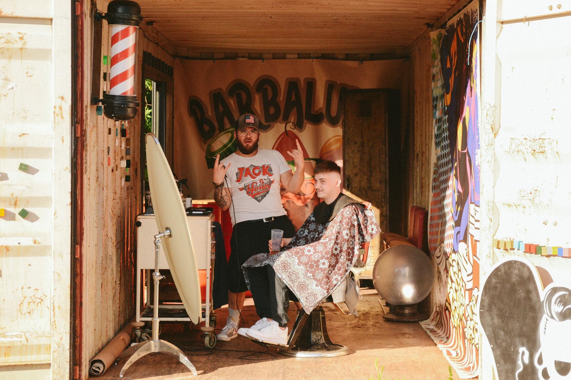Barbalulu, le barber shop de La Friche Lucien