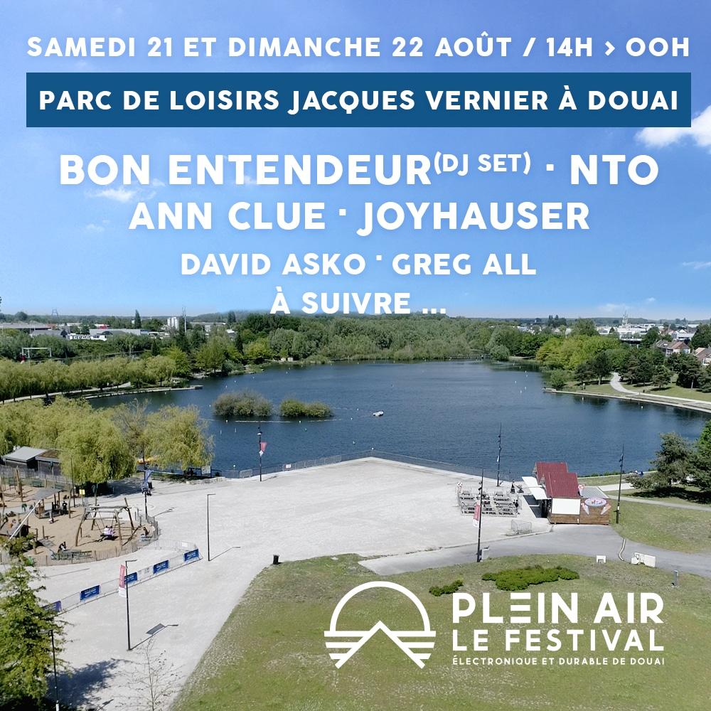 Line up du Plein Air Festival