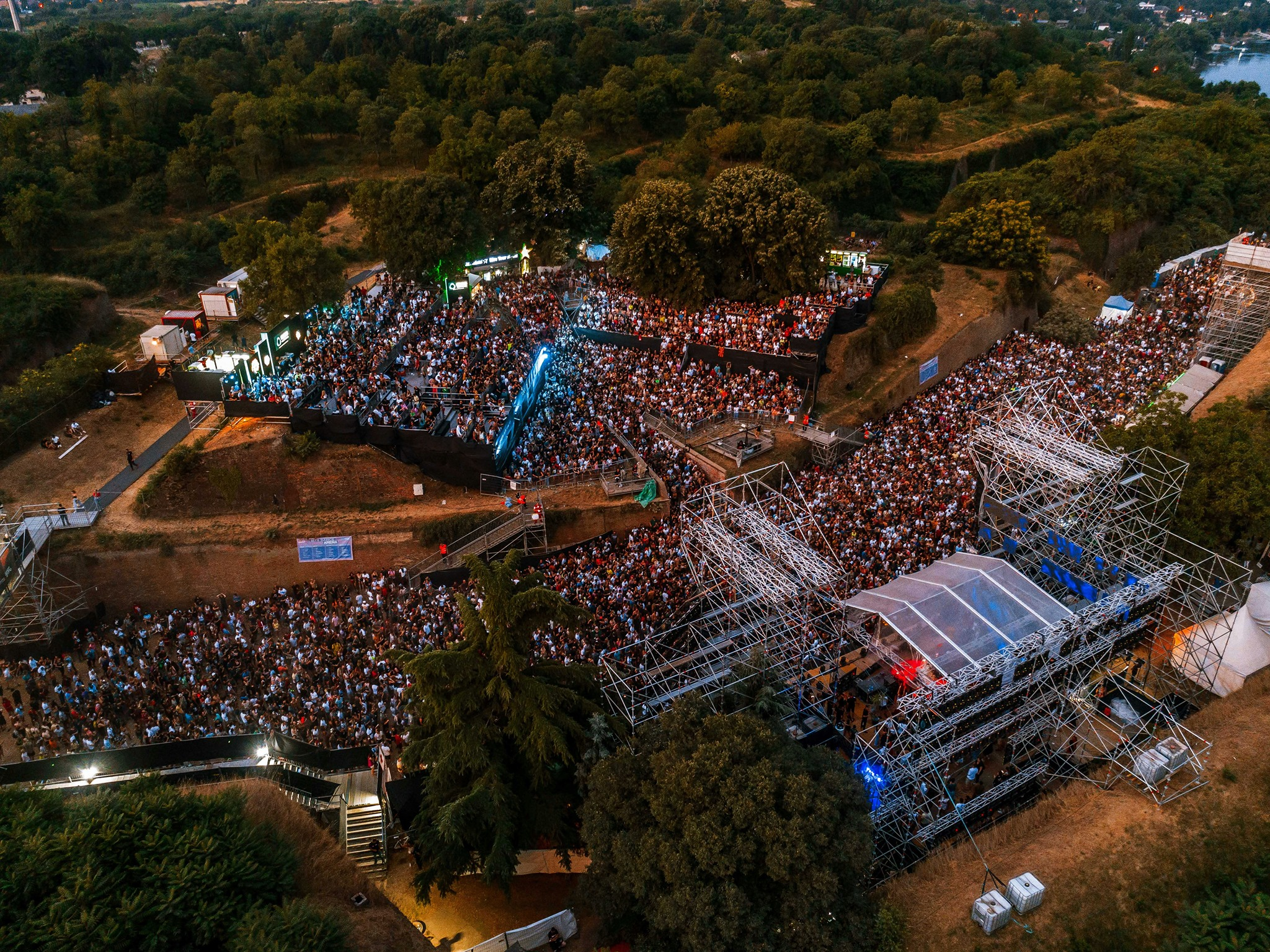 Exit Festival 2021 vu du ciel