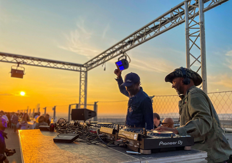 DJs à l'événement Skyroom du 8 juillet dernier