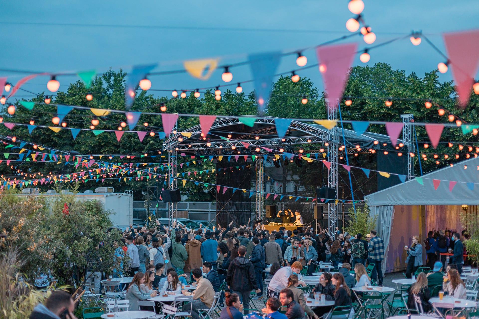 Soirée open air au Cabaret Sauvage. Crédit photo : Le Viet Photography