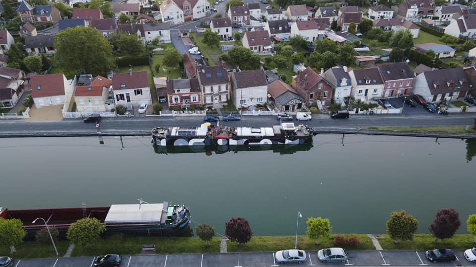 Ubran Boat à Douai pour l'Escale Douaisienne