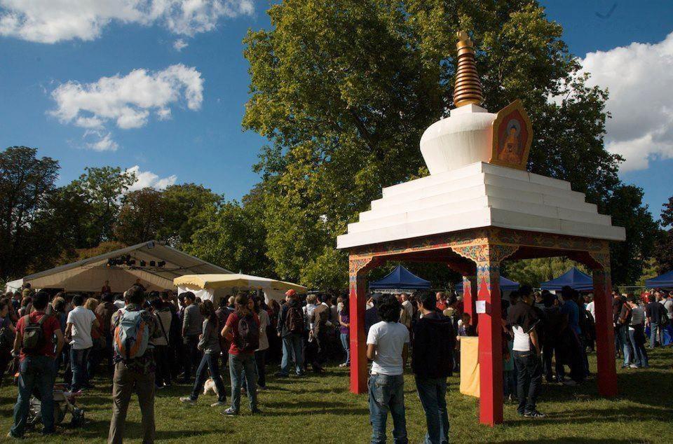 La trance va résonner dans le bois de Vincennes à l'occasion du festival du Tibet
