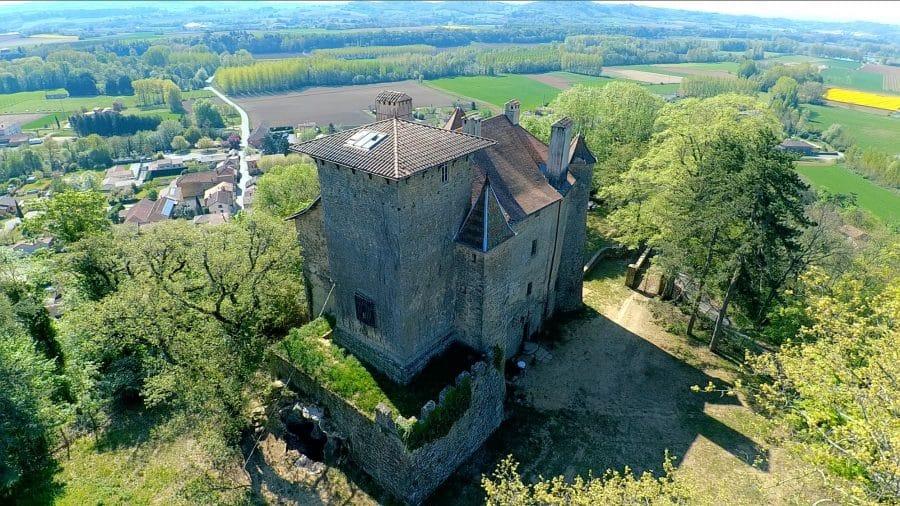 Château de Charmes-sur-l'Herbasse