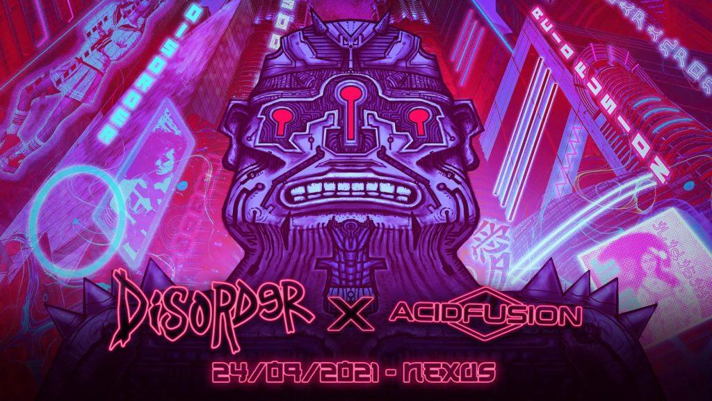 Affiche de la Disorder x Acid Fusion