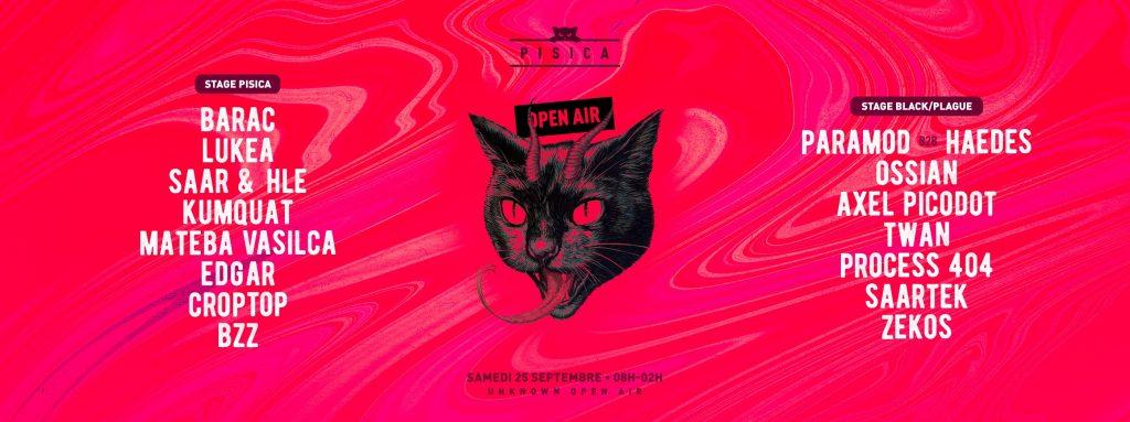 Affiche de la Pisica de septembre 2021