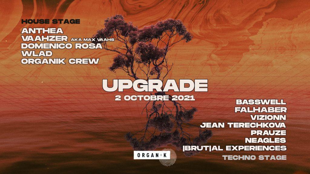 Affiche de l'évènement Upgrade