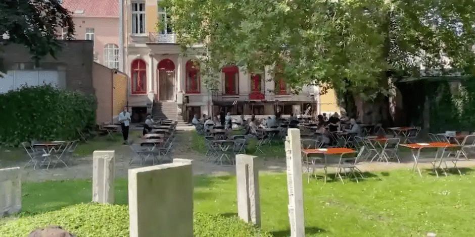 Un concert de musique classique à Sint-Niklaas a été perturbé par un riverain qui a diffusé du heavy métal © Capture écran vidéo Het Laaste Niews
