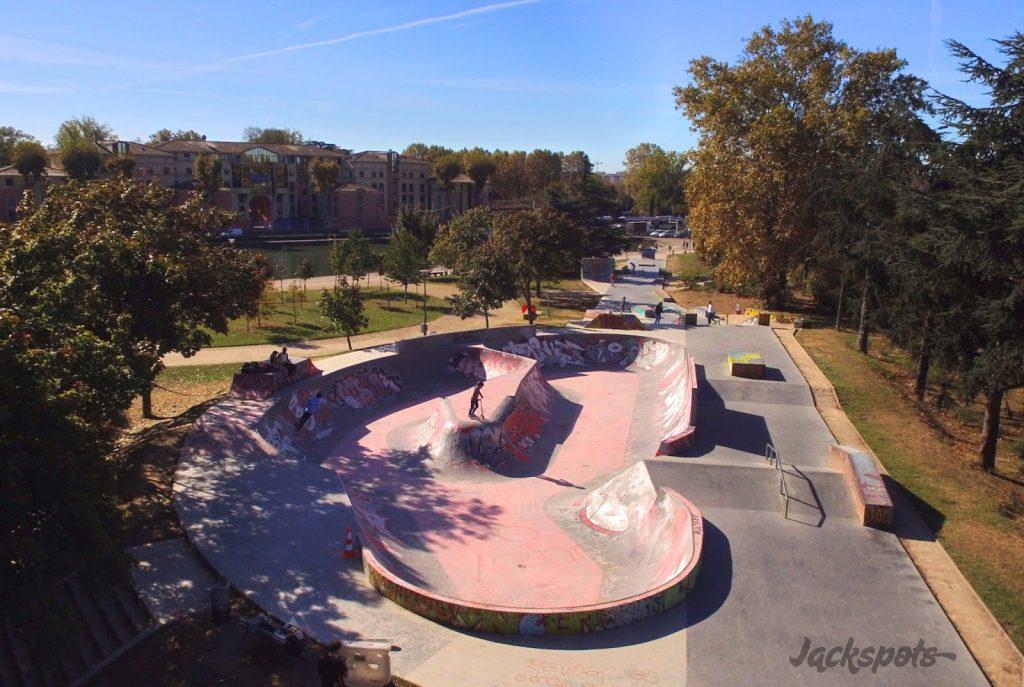 le skatepark des Ponts Jumeaux