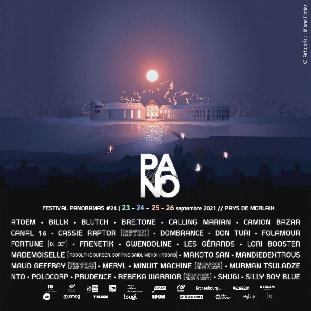 Affiche de la programmation du Panorama Festival 2021