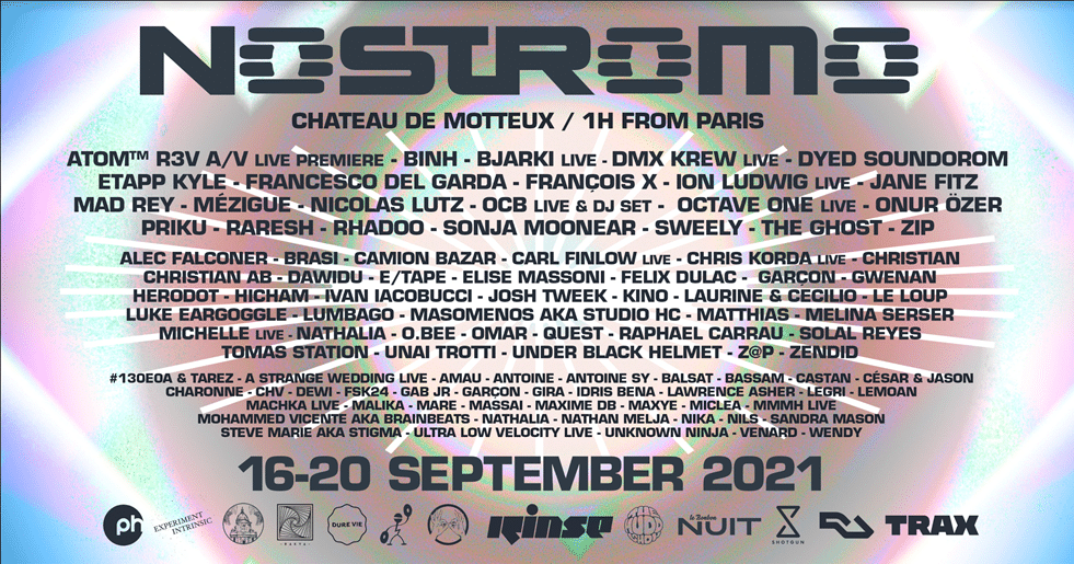 Programmation du festival Nostromo 2021