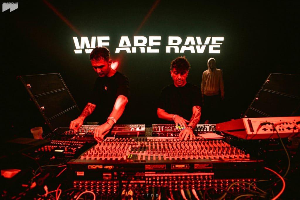 Soirée organisée par We Are Rave