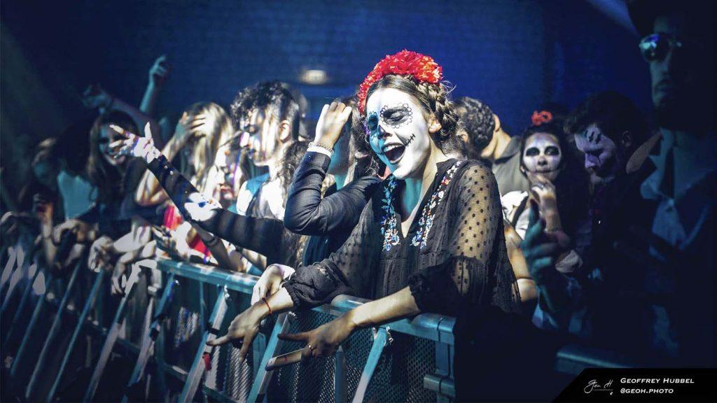 Soirée d'Halloween à Paris. Crédit : Geoffrey Hubbel