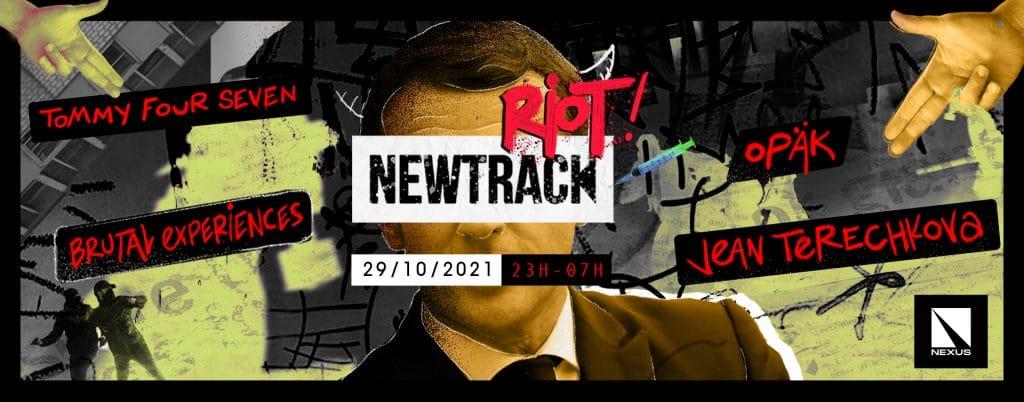 Affiche de la soirée Riot de Newtrack