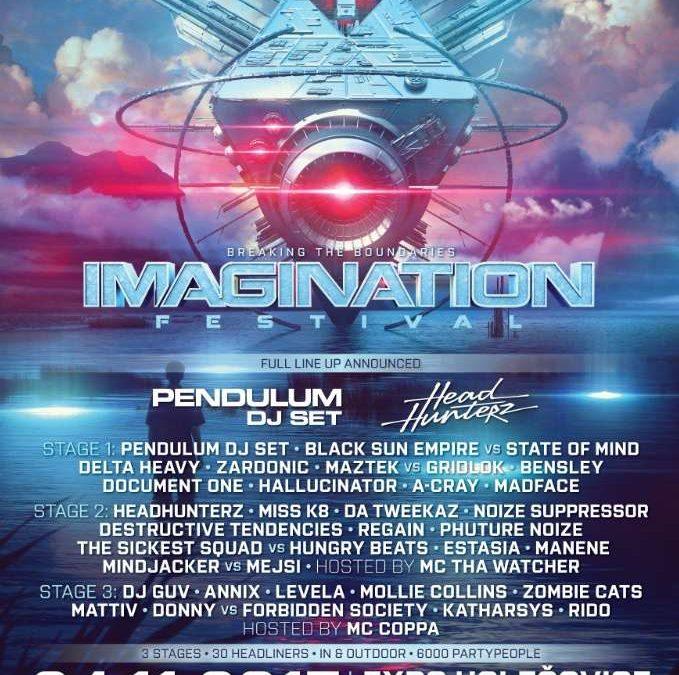L'Imagination Festival, c'est dans un mois !